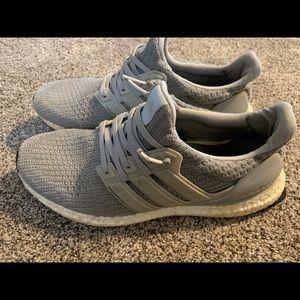 adidas Shoes - Adidas Ultra Boost-Silver/gray